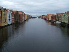 View from a Bridge in Trondheim