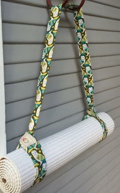 Yoga Mat Sling Strap Bag Carrier Holder by BlondeOlive on Etsy