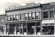 A double storefront on East 1st Street, Salida.