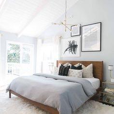 """""""Bedroom envy/ inspiration via @westelm via @jasminestar #bedroom…"""