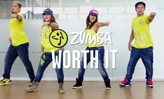 Zumba Fitness with Mark, Che, Kristie and Aris http://www.liveloveparty.tv Song: Worth It by 5th Harmony ft. Kid Ink