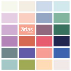 @designseeds X Color Atlas by Archroma®️ >>> the { pastel punch } palette overview https://www.design-seeds.com/spring-issue-no-1/pastel-punch/ …