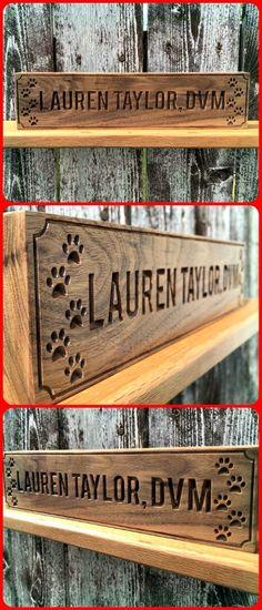 197 best office desk custom wood signs images in 2019 rh pinterest com