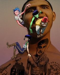 Gorillaz recruit slowthai and Slaves for punchy new cut Momentary Bliss Gorillaz Noodle, Gorillaz Albums, Jamie Hewlett Art, Damon Albarn, News Track, Photo Wall Collage, My Favorite Music, Cool Bands, Ideas