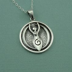 Spiral Goddess Necklace  by TheZenMuse