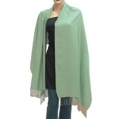 Scarf and Wrap Silk Wool Pashmina Accessory 80 x 28 inches (Apparel)  http://howtogetfaster.co.uk/jenks.php?p=B004PYS2MK  B004PYS2MK