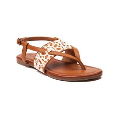 Make a splash into sandal season with the new Laveran Sandal from Sarah-Jayne! The Laveran Sandal flaunts synthetic uppers with crochet details, adjustable ankle strap with buckle closure, lightly padded footbed for comfort, and textured rubber outsole for flexible traction.