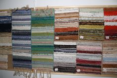 ANKI Rugs - Vintage colour samples dating back to the
