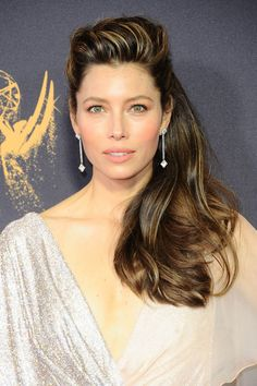 Jessica Biel is Kathleen's 2017 Emmys Best Dressed Jessica Chastain, Jessica Alba, Beautiful Celebrities, Beautiful Actresses, Beautiful Women, Girl Celebrities, Celebs, Jessica Biel Bikini, Jesica Biel