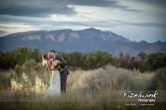 Bride and groom at sunset  #bride #groom #sunset #tamaya #albuquerquephotographer #nmphotographer #fizelwink #fizelwinkphotography