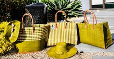Shebobo straw hats and bags. Shebobo.com