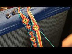 Lust am Knüpfen - 2. Das Anknüpfen - Anleitung für Anfänger - instruction for bracelets