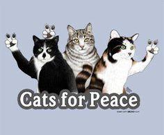 From Hippie Peace Freaks ~ Meowww... Purrrr... Peace~~♥