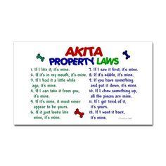 Akita Property Laws