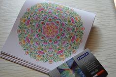 Mijn Blog: Aquarell Mandala
