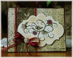 Heartfelt Creations   Ornamental Raspberries Swirl