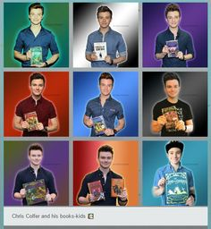 Chris Colfer and his books