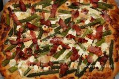 PrzepisAli na pizzę ze szparagami.