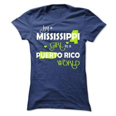 A MISSISSIPPI-PUERTO RICO girl Lime03 - #softball shirt #fashion tee. LOWEST SHIPPING => https://www.sunfrog.com/States/A-MISSISSIPPI-PUERTO-RICO-girl-Lime03-68675835-Ladies.html?68278