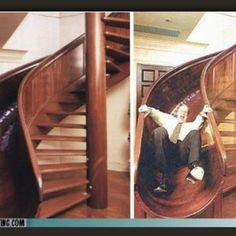 Stairs and slide!
