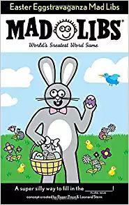Easter Eggstravaganza Mad Libs: Roger Price, Leonard Stern: 9780843172522: Amazon.com: Books