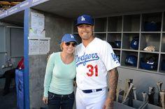 Britney Spears Photos - Celebrities Visit Dodger Stadium - Zimbio