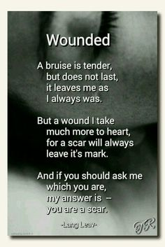 Wounded  Lang Leav