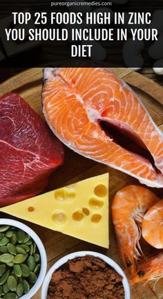 Top 25 Foods High in Zinc You Should Include In Your Diet – Healthy Care Solution Foods High In Zinc, Zinc Rich Foods, Healthy Evening Snacks, Zinc Deficiency, Rich In Protein, Bowl Of Soup, Grass Fed Beef, Natural Herbs, Herbal Medicine