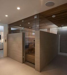 Erikoismitoitetut lasiseinät- ja ovet saunoihin Vitrealta