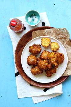 Hush Puppies with Corn and Scallions // The Sugar Hit
