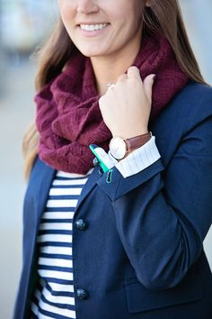 jillgg's good life (for less)   a style blog: my everyday style: blazers and scarves!