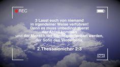 TRAILER zu    Die Liebe Gottes vs. Wellnessliebe der Gesetzlosen   