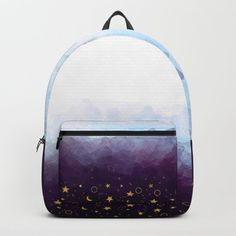 A Sea of Stars Backpack by kseniacreatives Kids Backpacks, School Backpacks, Sea Of Stars, A Sea, D Craft, Cute Tote Bags, Designer Backpacks, Beautiful Gifts, One Size Fits All