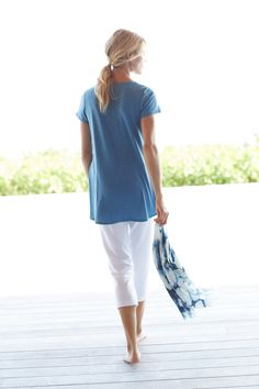 85cf322d1470 Easy style for casual days (featuring J.Jill's Pure Jill Scoop-Neck  Elliptical