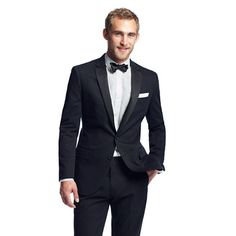 Ludlow tuxedo jacket with double vent in Italian chino - J Crew