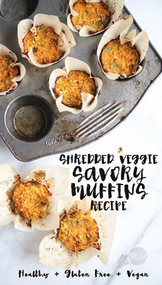 Healthy Breakfast Muffins - carrots, parsnips, I would cook the potatoes and sweet potatoes first, chickpea flour, olive oil, navy beans, parsley, dried basil; pureella