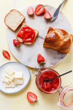 Gyors eper dzsem » Lila füge Camembert Cheese, Dairy, Lilac