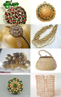Bling it for the Holidays by J. C. on Etsy--Pinned with TreasuryPin.com