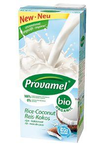 Frisches Rendezvous: Der neue Bio Reis-Kokosdrink von Provamel