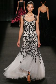 Monique Lhuillier Fall 2014 Ready-to-Wear Collection Slideshow on Style.com