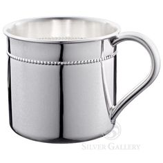 Reed and Barton Beaded Sterling Baby Cup http://www.jewelryarthudson.com/