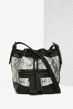 Nila Anthony Snake City Bucket Bag