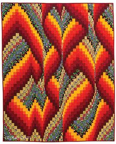 Bargello - Quilts in Motion (book) from C&T Publishing.