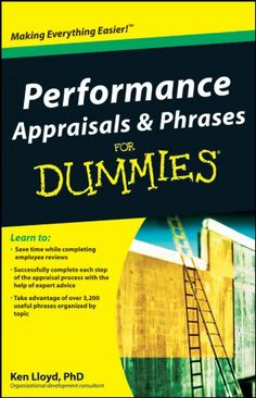 Amazon.com: Performance Appraisals and Phrases For Dummies eBook: Ken Lloyd: Kindle Store
