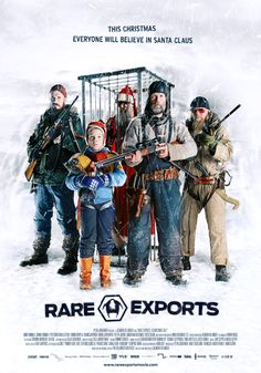 """Rare Exports, a brilliantly disturbed Finnish Christmas movie. I'm glad """"Christmas Horror"""" is a film genre that exists, and I'm hoping I can get my family to watch this instead of """"A Christmas Story"""" for the 38 millionth time this year."""