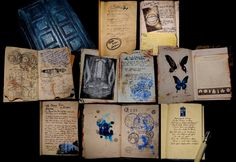 River Song diary collage by electricknite @deviantART