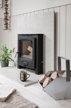 A convenient solution for converting an open fire, discover Arada's Ecoburn Plus Inset Stove. Spring Interiors, New Homes, Inset Stoves, New Stove, Neutral Interiors, Stove, Warm Interior, Fireplace, Stoves Range