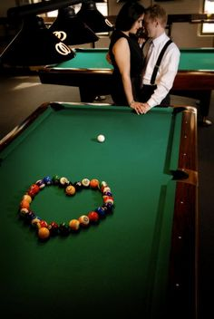 OMG!!!! i met my boyfriend in a pool hall..this is perfect :) i love it!