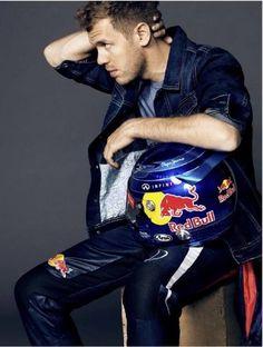 Sebastian Vettel ... Pepe Jeans shoot 2013