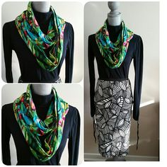 Transform your wardrobe with a fun scarf today! 😊